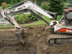 Mini excavators are key for medium to large ponds