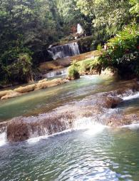 YS Waterfalls in Jamaica - stunning
