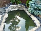I helped Domenic and his wife rebuild their pond