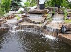 We just finished up our Muskoka pond project