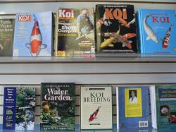 Koi magazines and books are also available